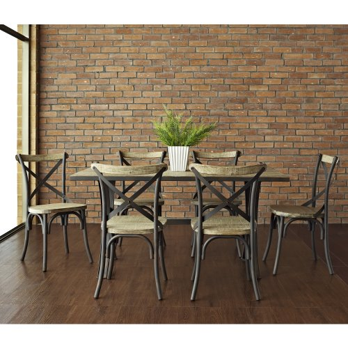 We furniture urban reclamation deluxe dining chairs set