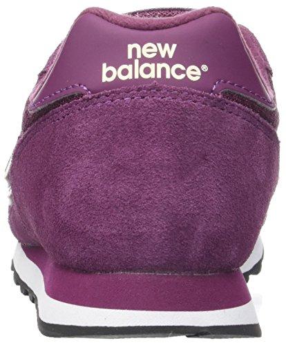 New Mujer Rojo Zapatillas Para burgundy Wl373pur Balance OxBSOR
