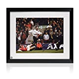 Framed Ryan Giggs Signed Manchester United Soccer Photo: FA Cup Semi Final Wonder Goal