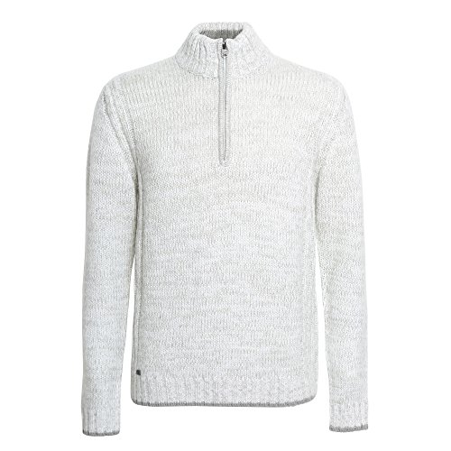 gris Fashion Pull 1 Ivoire Zippé Stepan 4 Homme Affordable agqw8pq