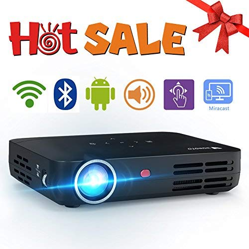 WOWOTO H8 3500 Lumens Mini Projector LED DLP...