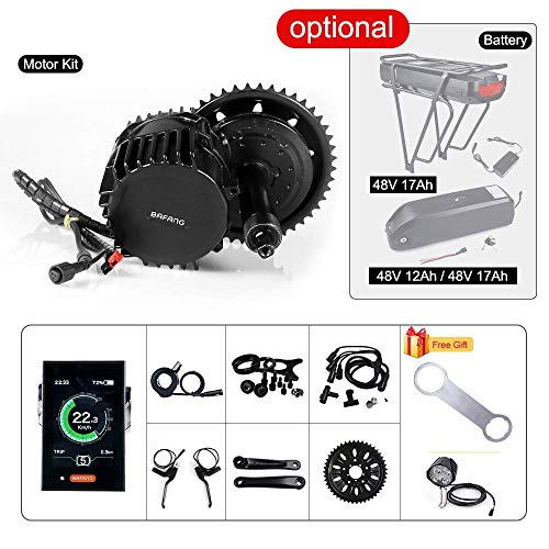 BAFANG BBSHD1000W Ebike Motor 850C Color LCD Display Electric Bike Motor Kit BB:100mm 42T