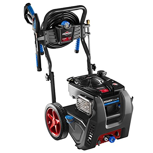 Briggs & Stratton 20570 POWERflow+ 5.0-GPM 3000-PSI Gas Pressure Washer with 875 Series 190cc Engine and Push Button Electric Start by Briggs & Stratton