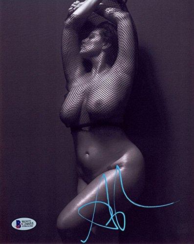 Ashley Graham Signed 8X10 Photo Sports Illustrated Swimsuit Model Beckett Bas