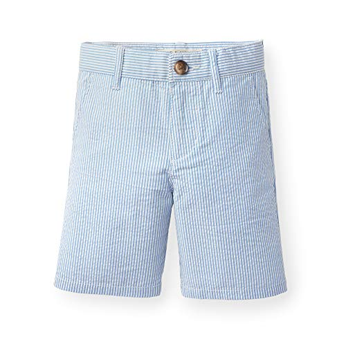 Hope & Henry Boys Blue Seersucker Short
