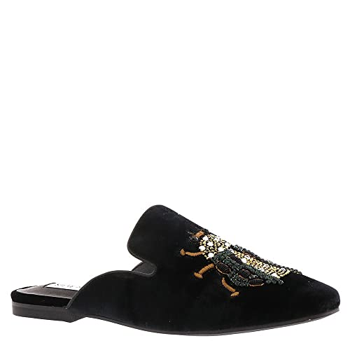 Steve Madden F1014 Sabot Donna Velvet Black Scarpe Shoe Woman  Amazon.it  Scarpe  e borse f7ec2d7bd24