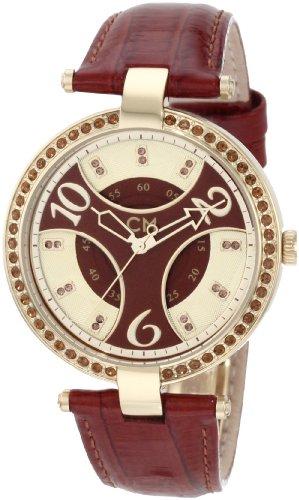 Carlo Monte Watch Leather (Carlo Monti CM501-295 Vittoria, Ladies watch, Analogue display, Quartz with Citizen Movement - Water resistant, Stylish leather strap, Elegant women's watch)