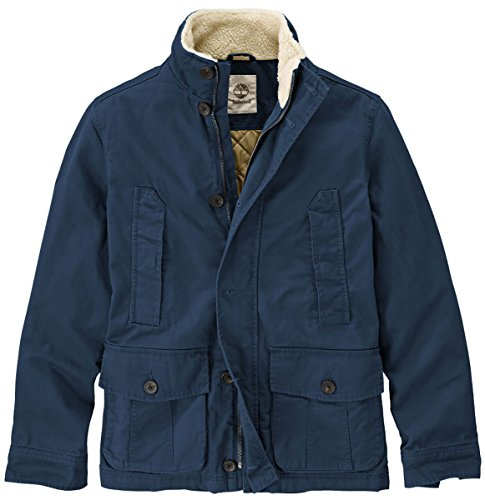 Timberland Men's Ragged Mountain Barn Cotton Twill Dark Navy Jacket (Large) by Timberland