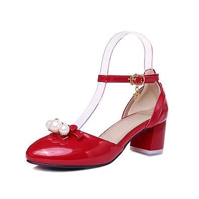 Sandals Damen, Rot - Rot - Größe: 38