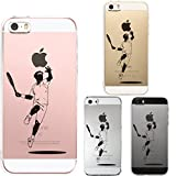 Iphone Se Iphone5s /5 Shell Case Anti-Scratch Clear Back for Iphone Se Iphone 5s /5 Tennis Smash! 2