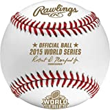 Rawlings Authentic 2015 MLB World Series On-Field Baseball with Display Case