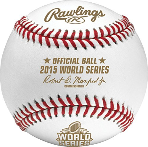 Rawlings WSBB15-R 2015 World Series Baseball Retail Cubed