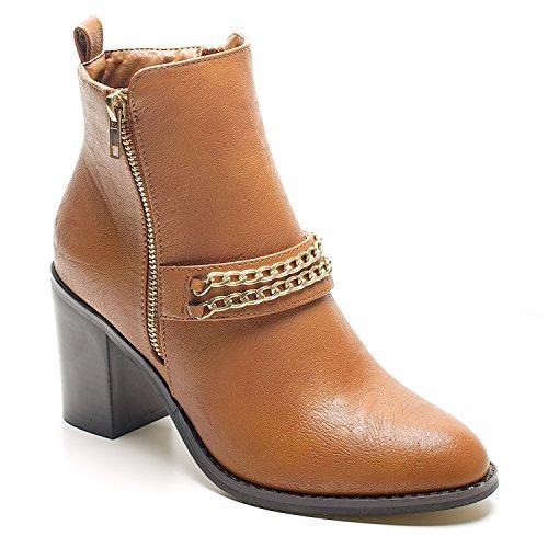 flip flop snowdrifter 30270 - Botas para mujer, color marrón, talla 36