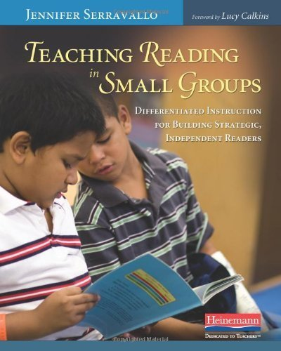 Teaching Reading in Small Groups: Differentiated Instruction for Building Strategic, Independent Readers by Jennifer Serravallo (2010-01-26)