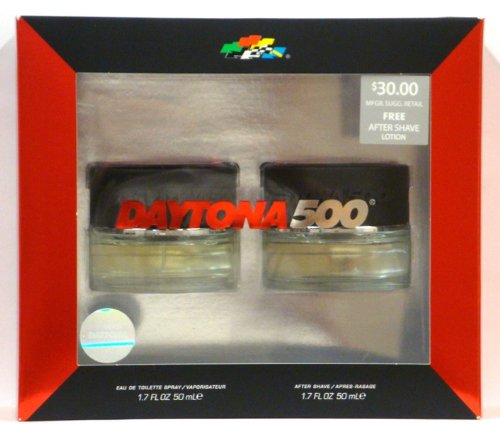 Daytona 500 Gift Set Eau De Toilette Spray 1.7 Oz, After Shave 1.7 Oz
