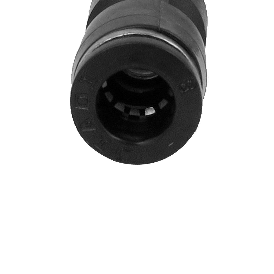 sourcingmap/® 20pcs Racor Junta Enlace Adaptador Conector Neum/ática de Aire R/ápido Empuje Adentro Para Conectar La Tuber/ía de 8mm Di/ámetro Exterior Recta