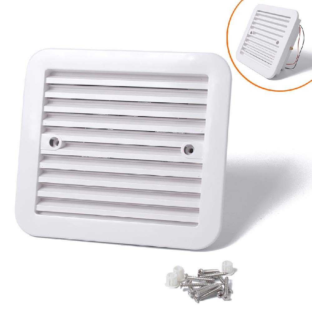 MASO Air Vent Ventilation for Motorhome, Cooling Exhaust Fan 12V for RV Caravan by Maso