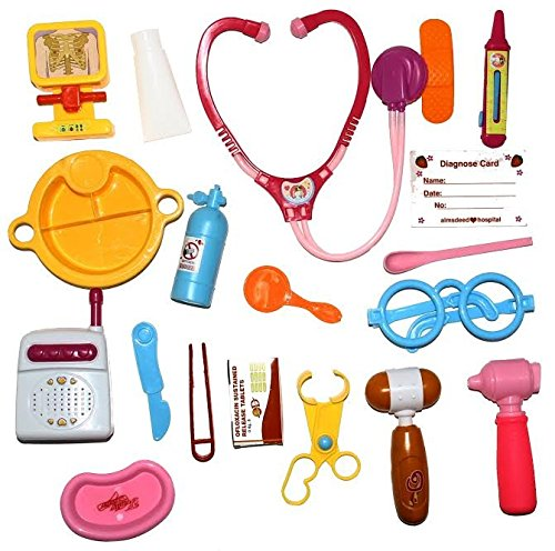 Dazzling Toys Medical Toy Series 19 Pce Doctor Tool
