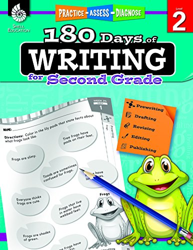 180 Days of Writing for Second Grade (180 Days of Practice) cover