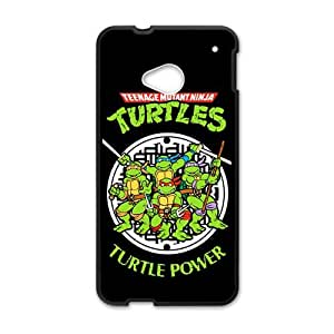 Happy Teenage Mutant Ninja Turtles Cell Phone Case for HTC One M7