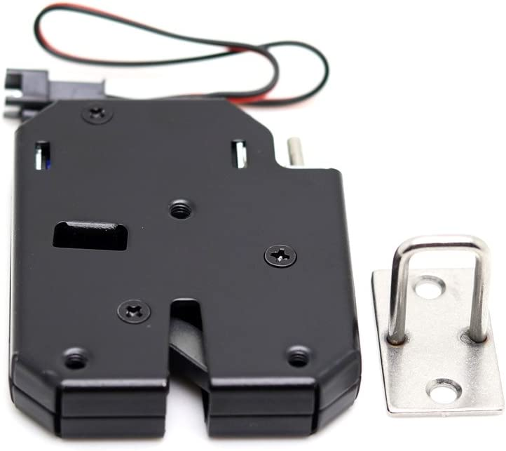 6V Solenoid fermant /à clef la serrure /électrique de porte pour la serrure de porte de tiroir de Cabinet Verrou magn/étique /électrique de DC 5V Paquet de 10