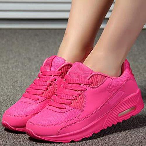 Esterno Ysfu Casual Donna Piattaforma Sportive Traspirante Da Sneaker Sneakers Autunno Scarpe Leggero Ammortizzatore q0rxFq
