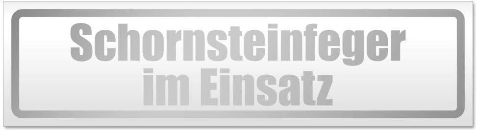 Kiwistar Schornsteinfeger im Einsatz Magnetschild Schild magnetisch