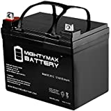 ML35-12 - 12V 35AH U1 Deep Cycle AGM Solar Battery Replaces 33Ah, 34Ah, 36Ah - Mighty Max Battery brand product