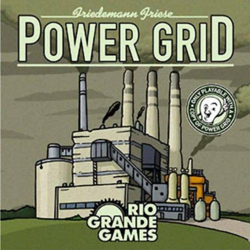 Rio Grande Games Power Grid deck The New Power Plant Cards (Power Game Plant)
