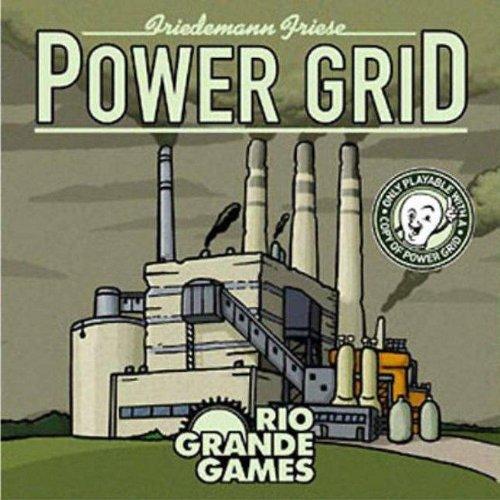 Rio Grande Games Power Grid deck The New Power Plant ()
