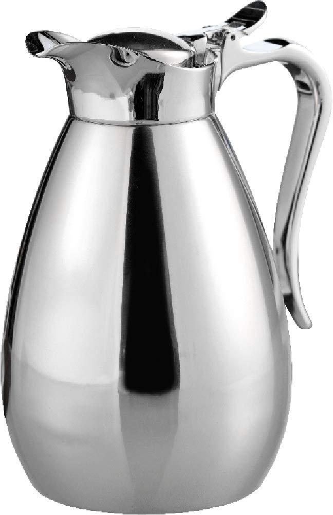 Esmeyer Palace - Caraffa termica PALACE, contenuto: 0,65 l in acciaio inox, infrangibile altezza: 195 mm Esmeyer GmbH & Co. KG 305-001 caraffa caffè caraffa isotermica uso con una mano