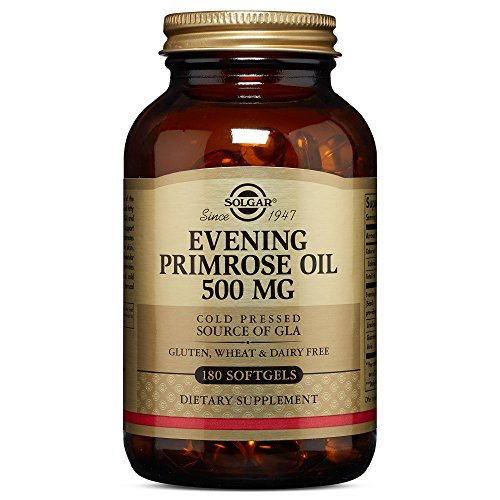 Solgar - Evening Primrose Oil 500 mg Softgels 180 Count