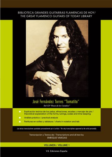 Tomatito's Paseo de los Castanos Score, Volume 1 The Great Flamenco Guitars of Today Library (English and Spanish Edition) pdf epub