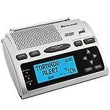 Midland - WR300, Deluxe NOAA Emergency Weather Alert Radio - S.A.M.E. Localized Programming, 60+ Emergency Alerts, & Alarm Clock w/ AM/FM Radio