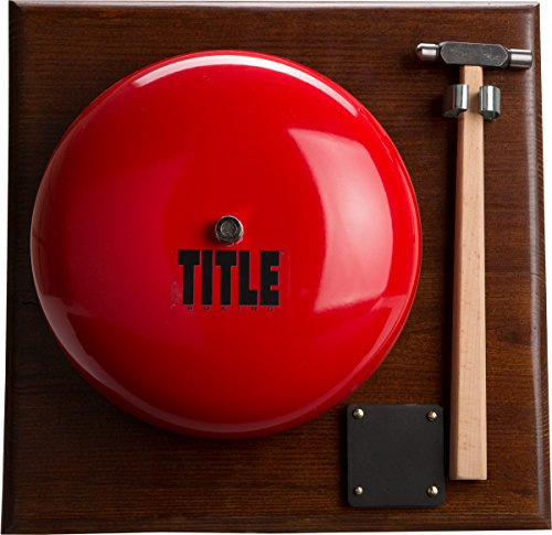 TITLE Ring Gong and Hammer Set by Title Boxing