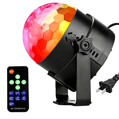NIUBIER Party Lights Lighting Disco Balls Remote Control Light Party RGB Sound Actived Ocean Wave LED Disco Ball Lights For Home Kids Party Wedding Club Light