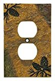 Cheap Big Sky Carvers 30170448 Pinecone Single Outlet Cover