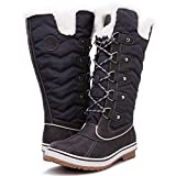 Kingshow Women's Globalwin Grey1711 Waterproof Winter Boots - 8 D(M) US Women's