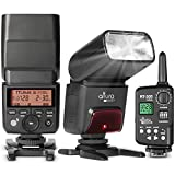 Camera Flash with Trigger for Nikon by Altura Photo - AP-305N 2.4GHz I-TTL Speedlite for DSLR and Mirrorless