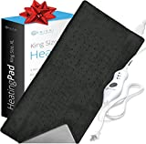 XL Heating Pad - Electric Heating Pad for Moist and Dry Heat Therapy