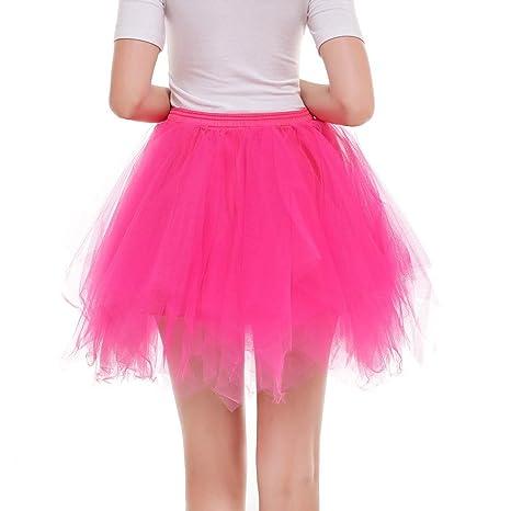 Falda plisada de gasa para mujer, falda corta para adulto, falda ...