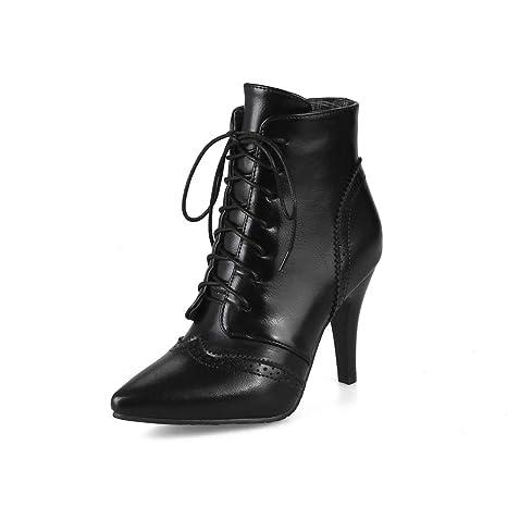 Da donna Stile europeo americano Manica Stivali alti Velluto