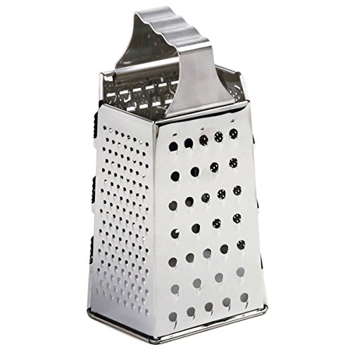 Norpro 327 8.5'' x 4.5'' Stainless Steel 6-Sided Cheese Grater