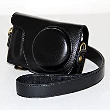 DKY Protective PU Leather Camera Case, Bag for Samsung NX Mini with 9mm Lens Kit (Black)