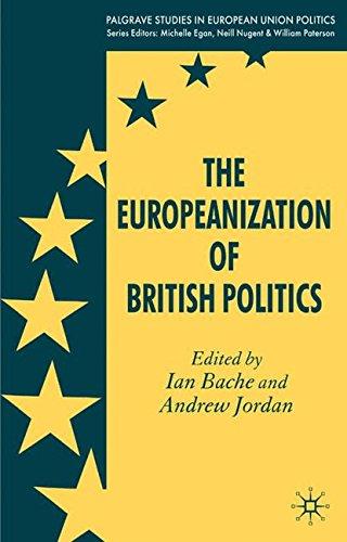 The Europeanization of British Politics (Palgrave Studies in European Union Politics)