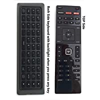 New Qwerty Remote XRT500 with Back-light fit for VIZIO M602I-B3 M322I-B1 M422I-B1 M602I-B3 M43-C1 M43C1 M49-C1 M49C1 M50-C1 M50C1 M55-C2 M55C2 M60-C3 2014 2015 2016 SMART LED TV