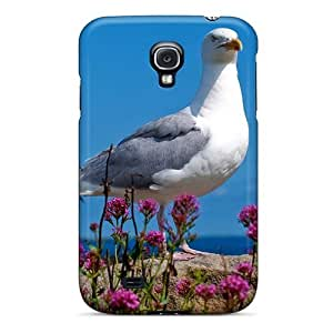 Galaxy High Quality Tpu Case/ Beautiful Seagul GkqtGaT4114ABchp Case Cover For Galaxy S4