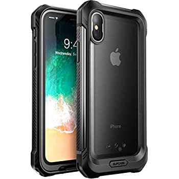 big sale 8d271 ec61b SUPCASE iPhone X, iPhone Xs Case, SUPCASE [Unicorn Beetle Storm] Waterproof  Full-Body Rugged Case with Built-in Screen Protector for Apple iPhone X ...