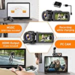 CamVeo-27K-Video-Camera-Camcorder-Vlogging-Camera-with-16X-powerful-zoom-and-36-Mega-pixels-IR-Night-Vision-Digital-Camera-Recorder-with-30-inch-LCD-Touch-Screen