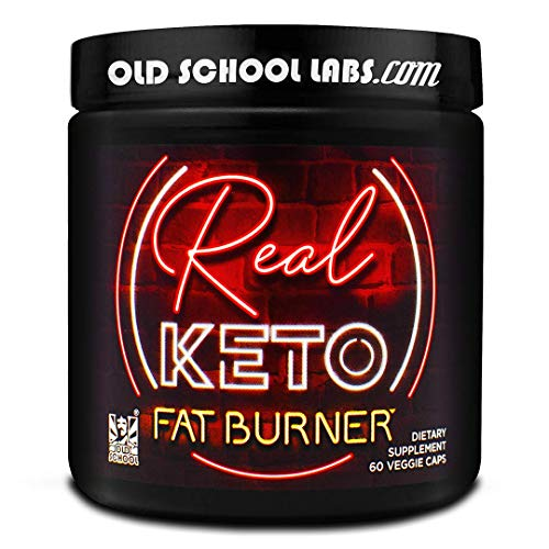 Real Keto Fat Burner - Antidote to Keto Plateaus - Thermogenic Weight Loss Supplement - for Men and Women - Maximum Fat Loss, Energy, Appetite Control, Metabolism, and Mood - 60 Veggie Diet Pills (Best Fat Burner Available)
